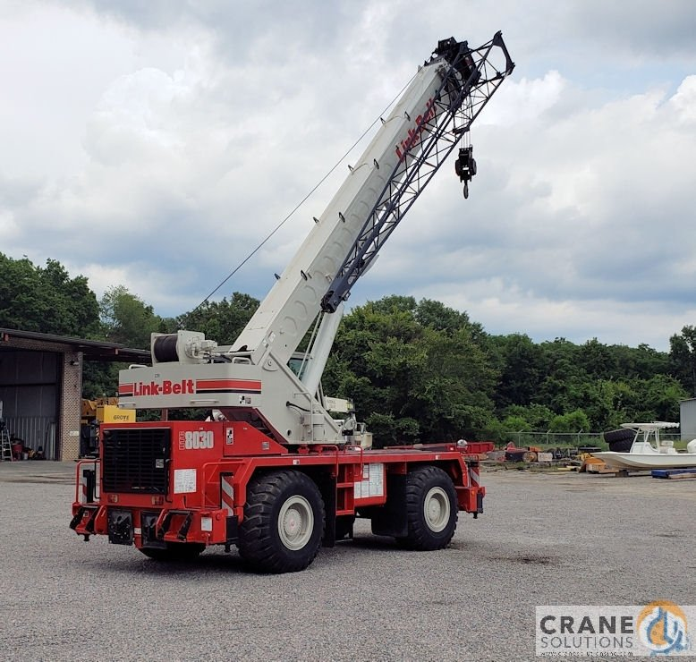 2009 Link-Belt RTC8030 Tier II Crane for Sale in Houston Texas on CraneNetwork.com