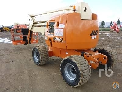 2007 JLG 450AJ Crane for Sale in Nisku Alberta on CraneNetwork.com