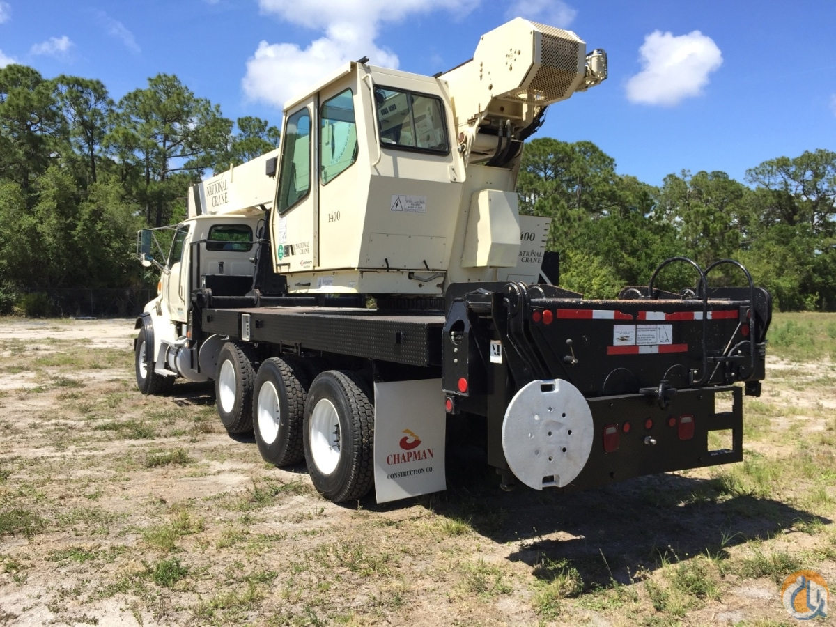 2006 NATIONAL 14127 33 TON STERLING 4 AXLE FLORIDA Crane for Sale in Fort Pierce Florida on CraneNetwork.com