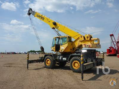 2002 GROVE RT530E 30 Ton 4x4x4 Rough Terrain Crane Crane for Sale in Minneapolis Minnesota on CraneNetworkcom