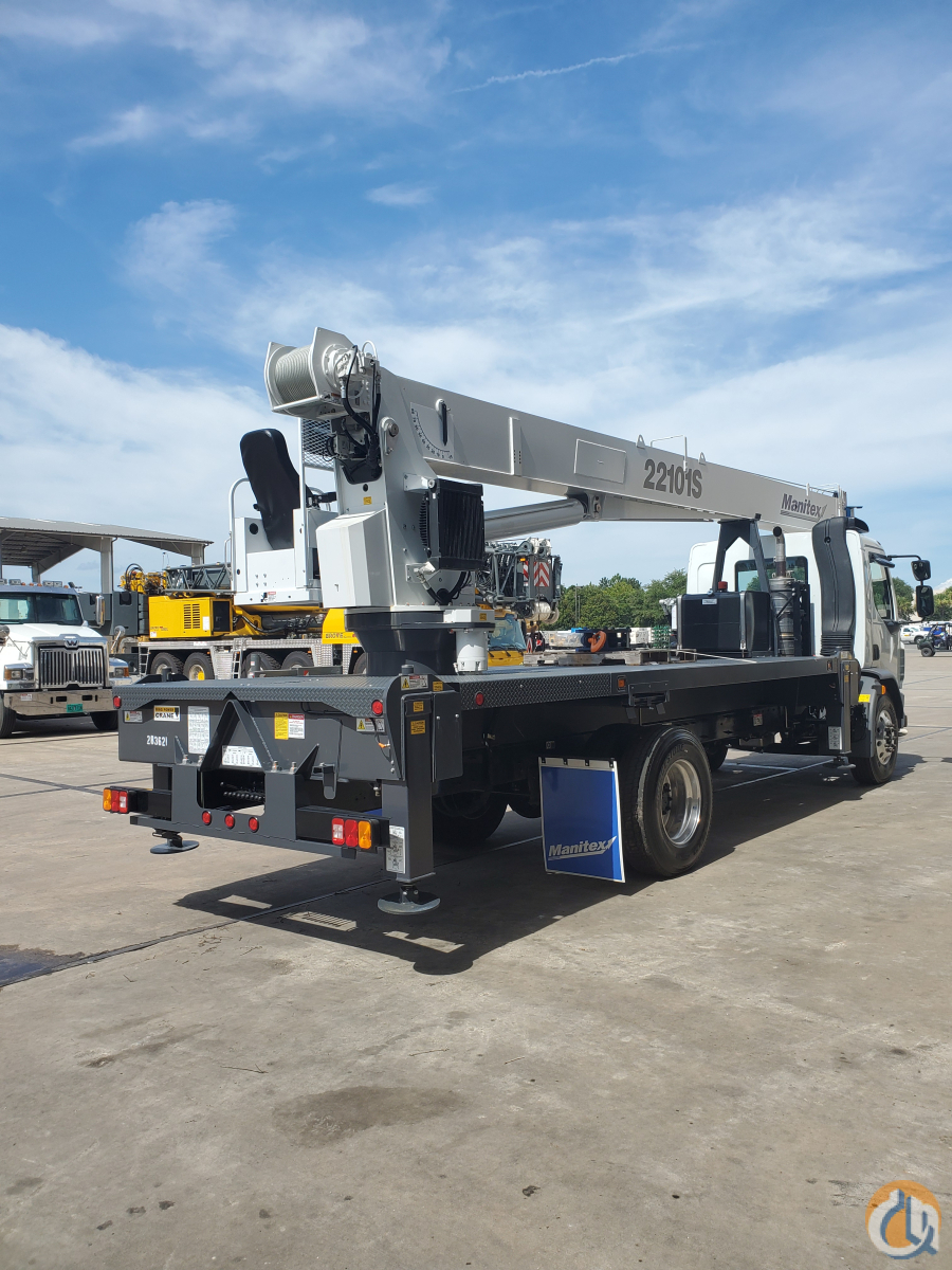 2021 MANITEX 22101S Crane for Sale in St. Augustine Florida on CraneNetwork.com