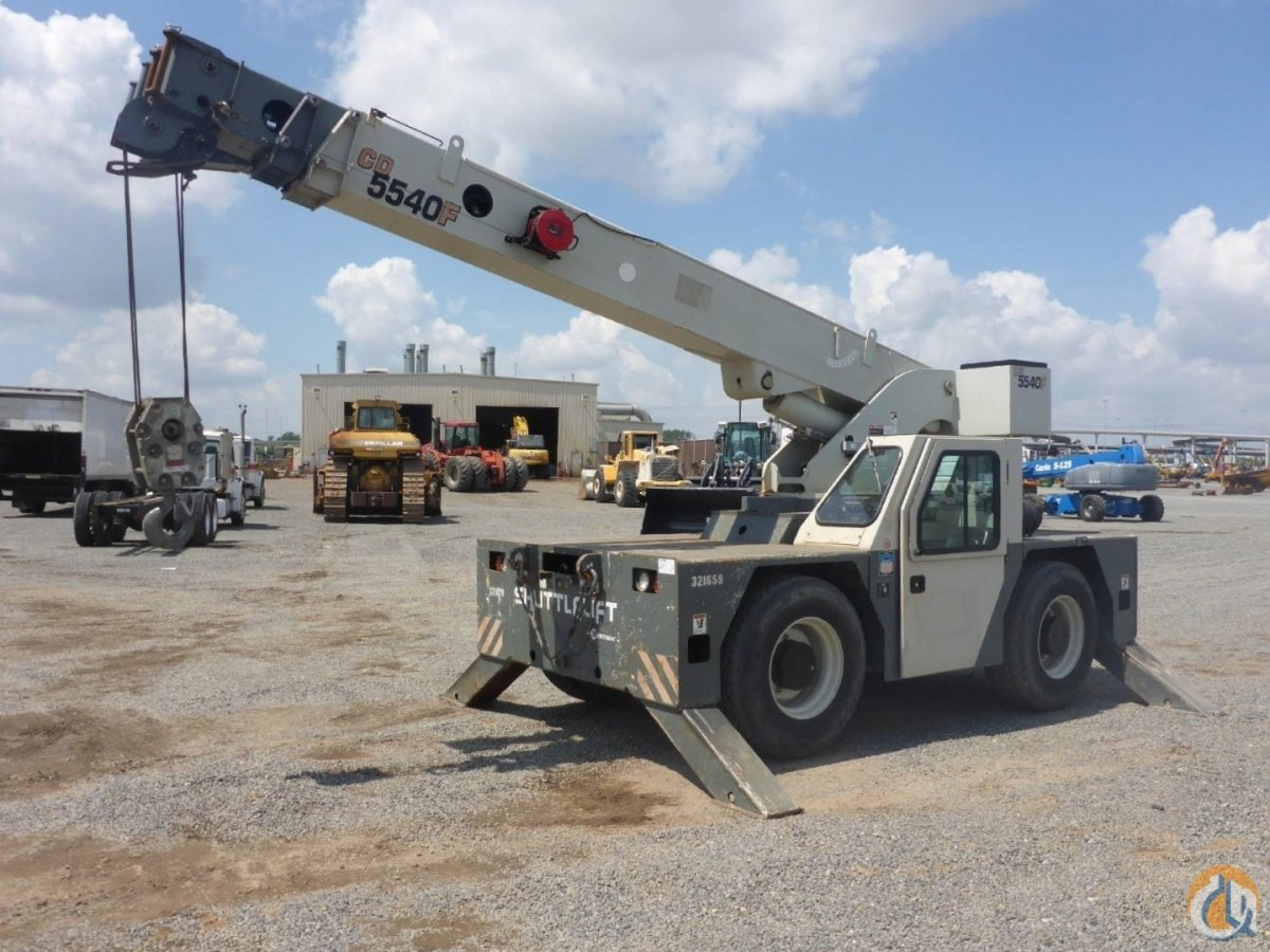 2011 SHUTTLELIFT 5540F Crane for Sale or Rent in Savannah Georgia on CraneNetwork.com