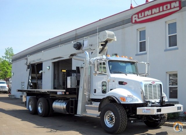 National Crane 8100D boom truck on 2016 Peterbilt 348 Crane for Sale in Lyons Illinois on CraneNetwork.com