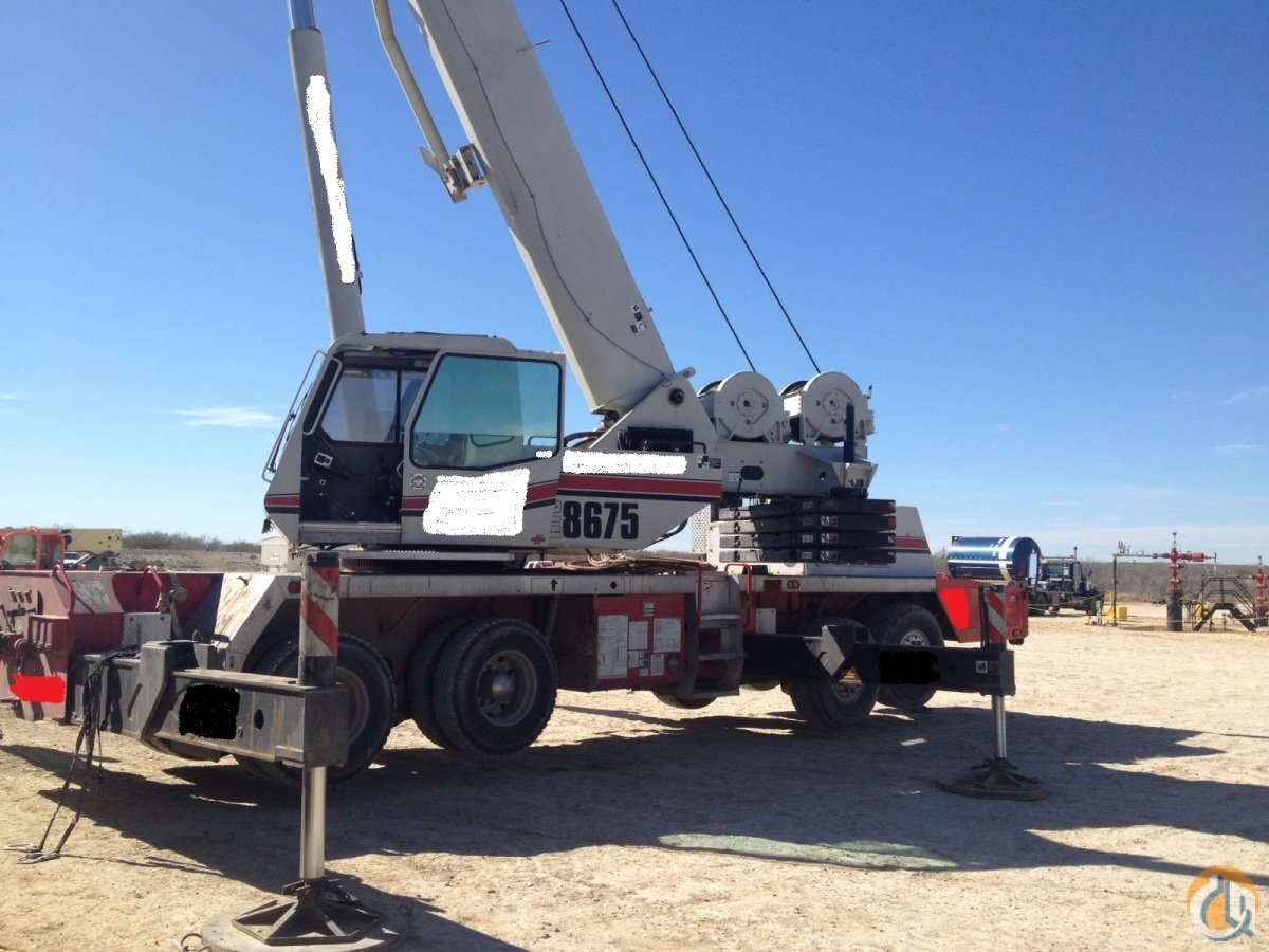 Used Jib Cranes Houston : Sold htc crane for in houston texas on cranenetwork