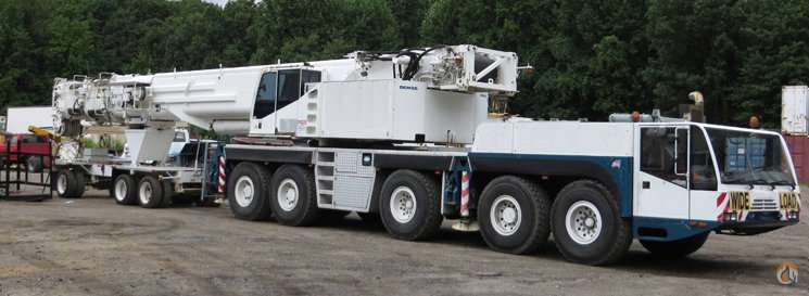 sold demag ac200 1 220 ton 5 axle at with luffer crane for on rh cranenetwork com Demag Cranes & Components Demag Hoist