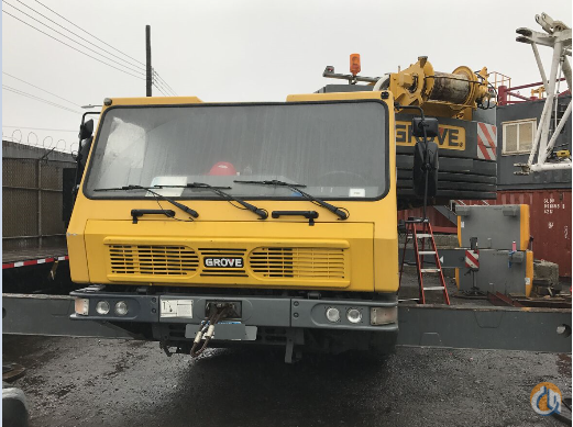 2005 GROVE GMK3055 Crane for Sale in New York New York on CraneNetwork.com