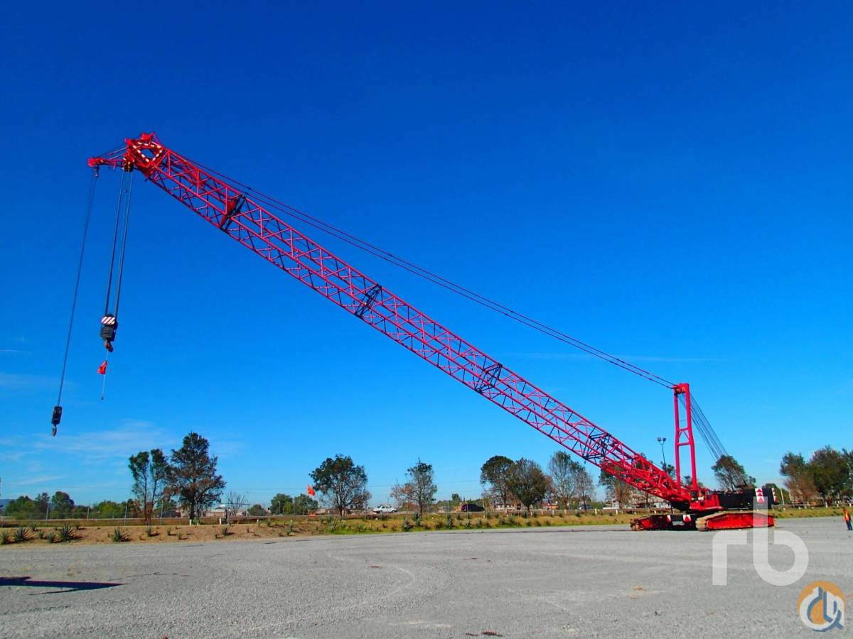 Sold 1997 DEMAG CC1400 250 Ton Crawler Crane Crane for  in Polotitln de la Ilustracin State of Mexico on CraneNetworkcom