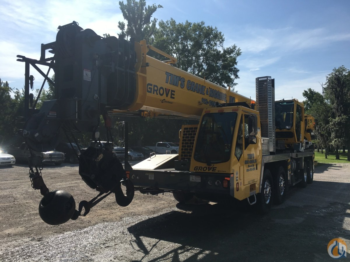 2015 Grove TMS800E Crane for Sale in Pooler Georgia on CraneNetwork.com