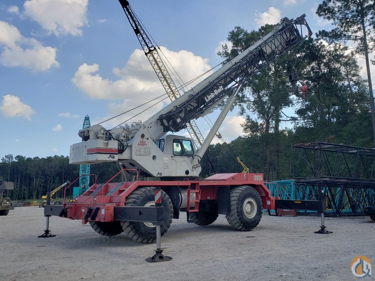 2008 LINK-BELT RTC-8065 SERIES II Crane for Sale or Rent in Savannah Georgia on CraneNetwork.com