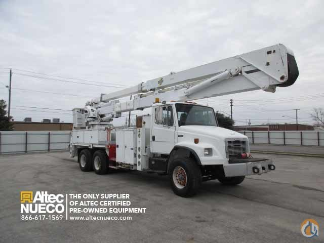 2003 ALTEC AH100 Crane for Sale in Birmingham Alabama on CraneNetworkcom