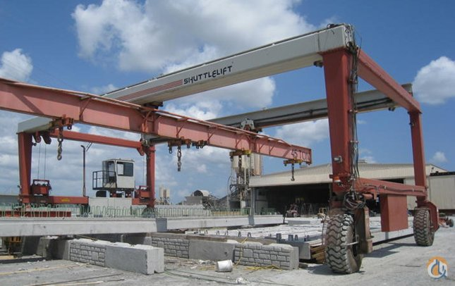 65-TON 2005 SHUTTLELIFT ISL-50B MOBILE GANTRY CRANE Crane for Sale in Baltimore Maryland on CraneNetwork.com