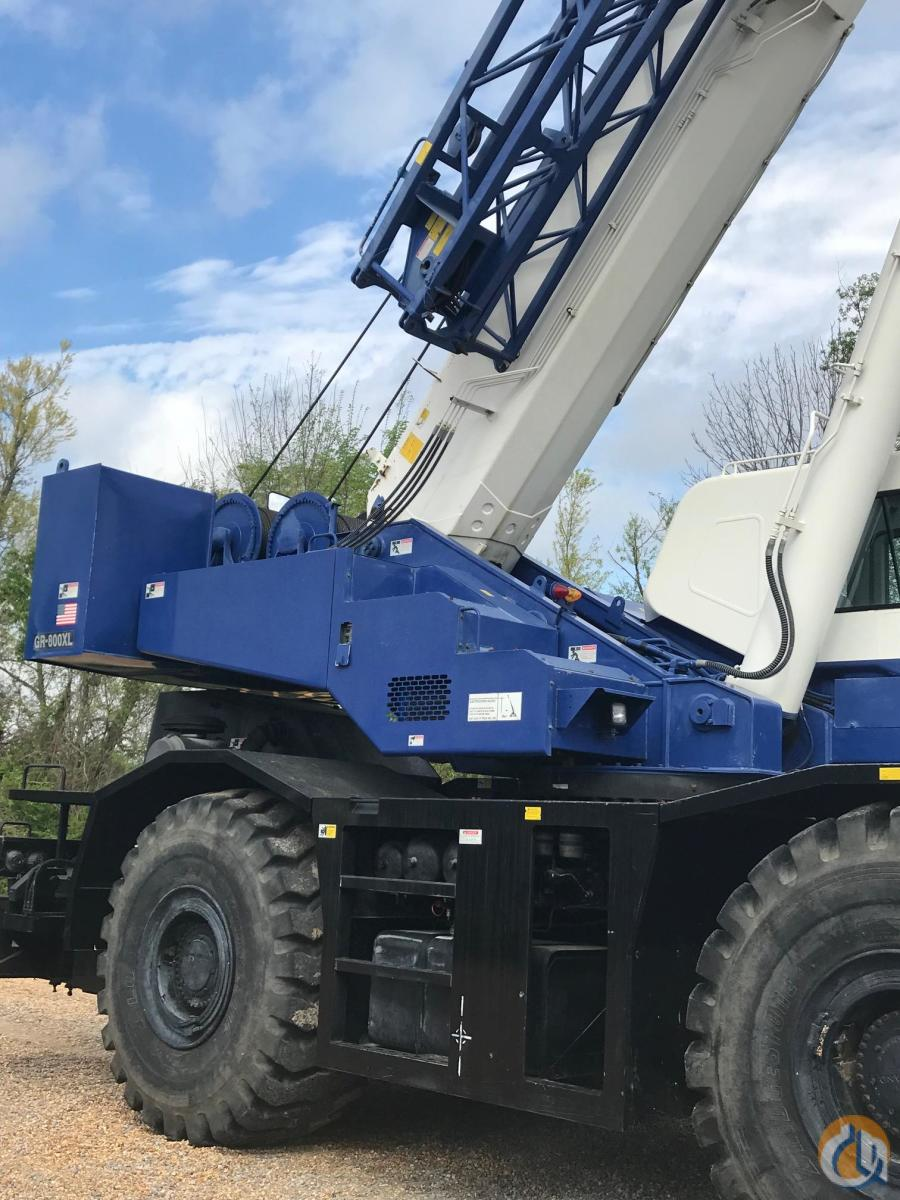 2009 Tadano GR800XL Crane for Sale or Rent in Brandon Mississippi on CraneNetwork.com