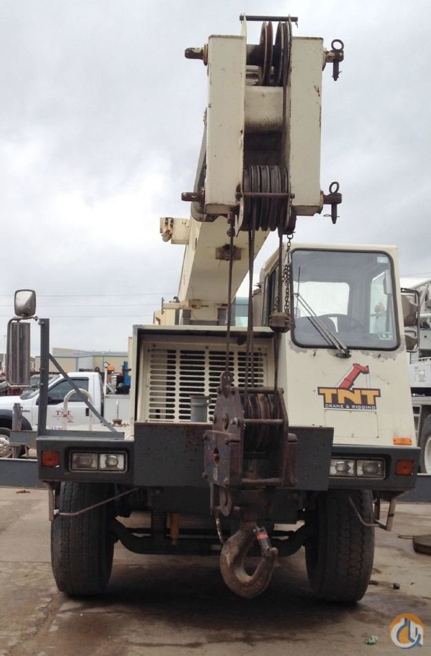 1998 Terex T340 Crane for Sale in Pampa Texas on CraneNetworkcom