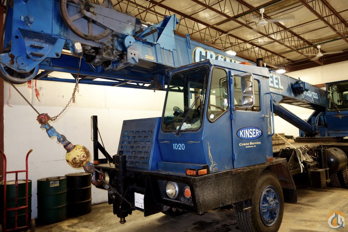 1991 Grove TMS200A Crane for Sale in West Chicago Illinois on CraneNetwork.com
