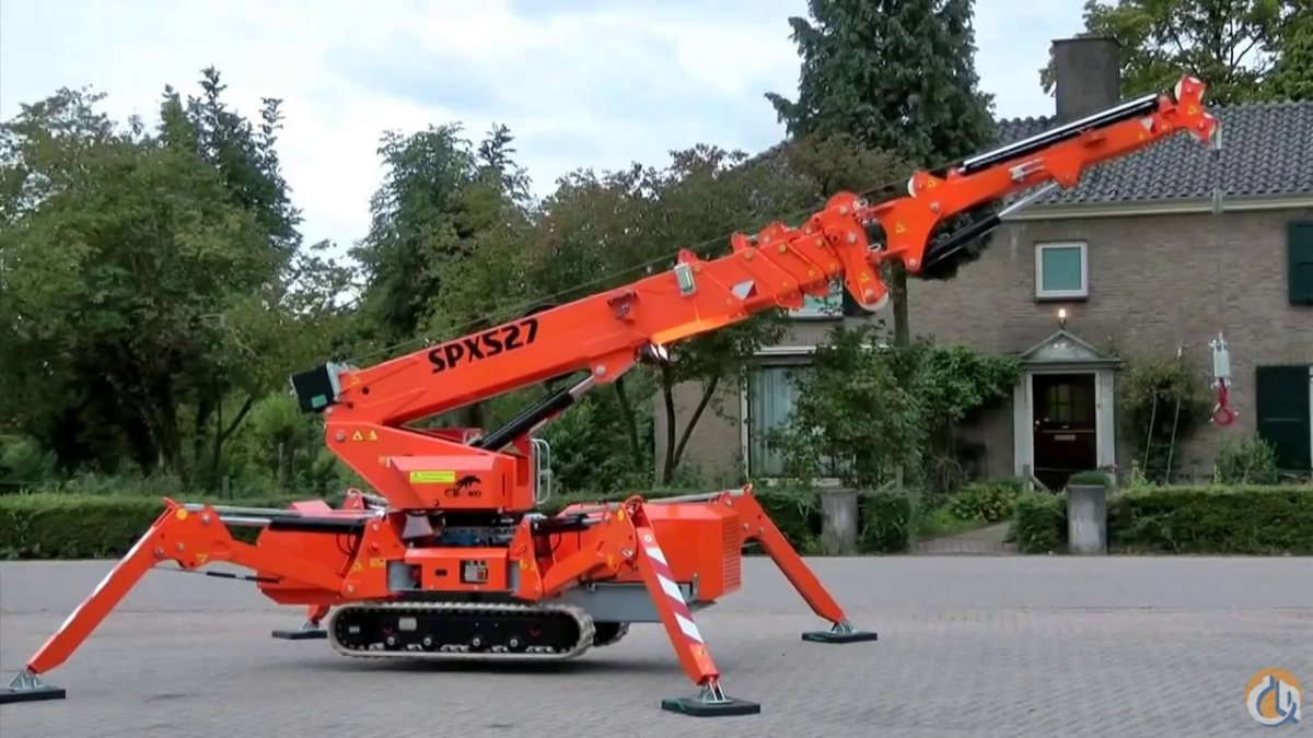 New Jekko SPX 527 CDH mini crane Crane for Sale in Olathe Kansas on CraneNetwork.com