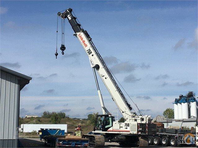 NEW 2017 Link-Belt TCC 750 IN STOCK Crane for Sale in Lyon Charter Township Michigan on CraneNetwork.com