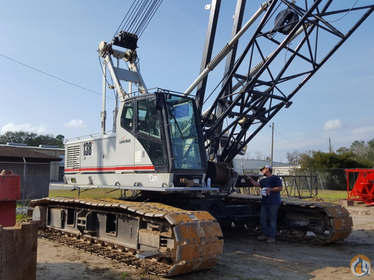 2005 LINK-BELT LS-138H5 Crane for Sale or Rent in Savannah Georgia on CraneNetwork.com