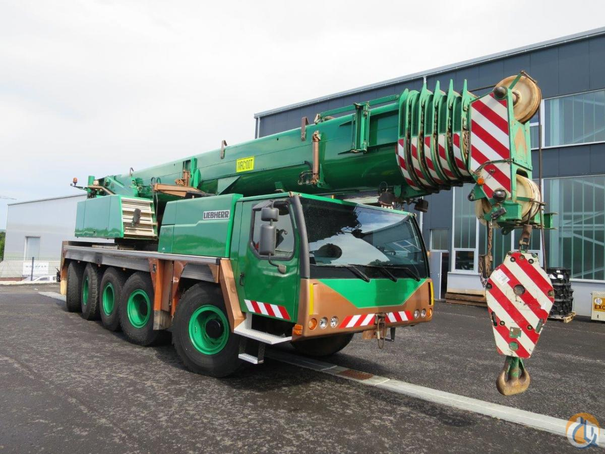 Sold 2005 LIEBHERR LTM 1100-5.1 WITH 2 WINCHES Crane for  in Kirchheim unter Teck Baden-Wrttemberg on CraneNetwork.com