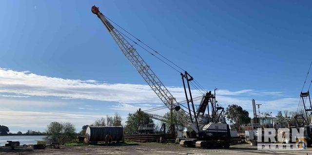 1987 American 7225DS Lattice-Boom Crawler Crane Crane for...
