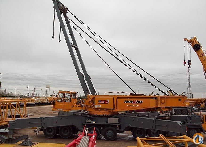 1993 Liebherr LG1550 Crane for Sale on CraneNetwork.com