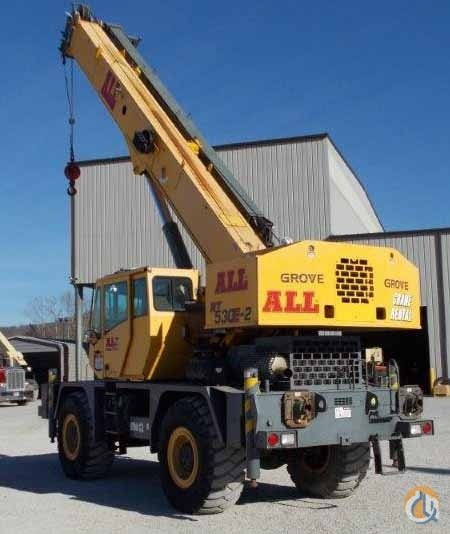 Grove RT530E-2 for sale Crane for Sale in Cleveland Ohio on CraneNetwork.com