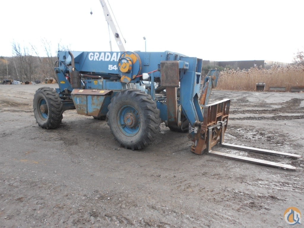 1995 Gradall 544B Crane for Sale in Williston Vermont on CraneNetwork.com