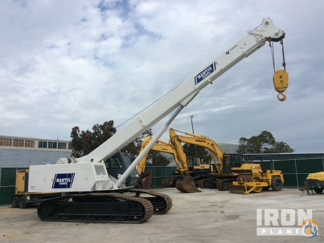 Sold 2000 Mantis 6010 Telescopic Crawler Crane Crane for  in South San Francisco California on CraneNetwork.com