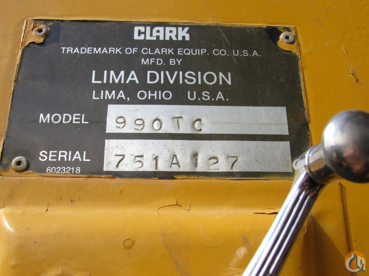 Lima 900-TC Truck Mounted Lattice Boom Cranes Crane for Sale 1978 Clark-Lima 990-TC Lattice Boom Truck in  Washington  United States 180214 CraneNetwork