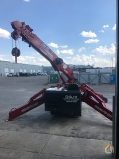 SPYDERCRANE URW547 Diesel Crane for Sale or Rent in Airdrie Alberta on CraneNetwork.com