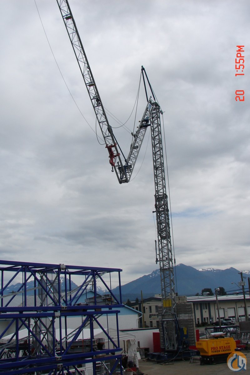 KSD TK 4310 Self-Erecting Tower Crane Crane for Sale or Rent in Niagara-on-the-Lake Ontario on CraneNetwork.com