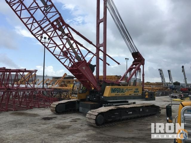 Sold 2009 Sany SCC 3000 US Lattice-Boom Crawler Crane Crane for  in La Porte Texas on CraneNetwork.com