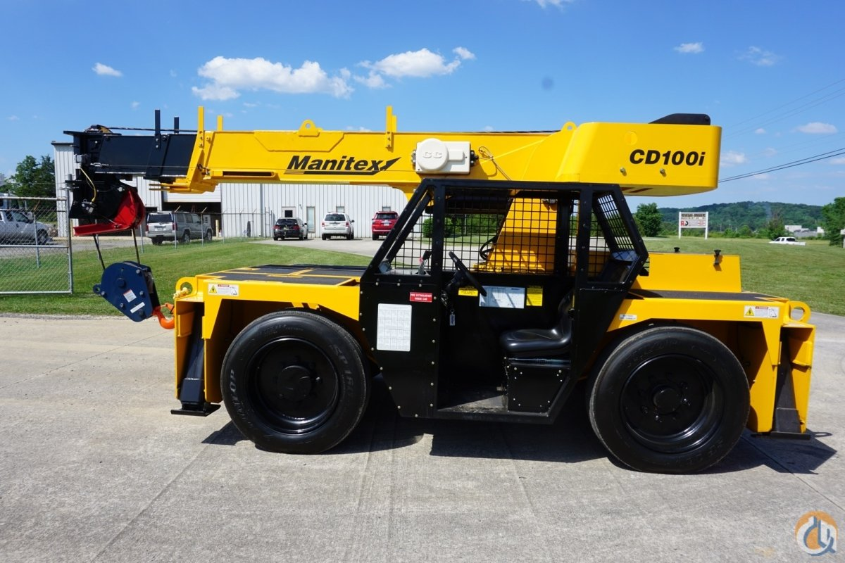 Manitex CD100i Carry Deck Crane Crane for Sale in Cleveland Tennessee on CraneNetwork.com