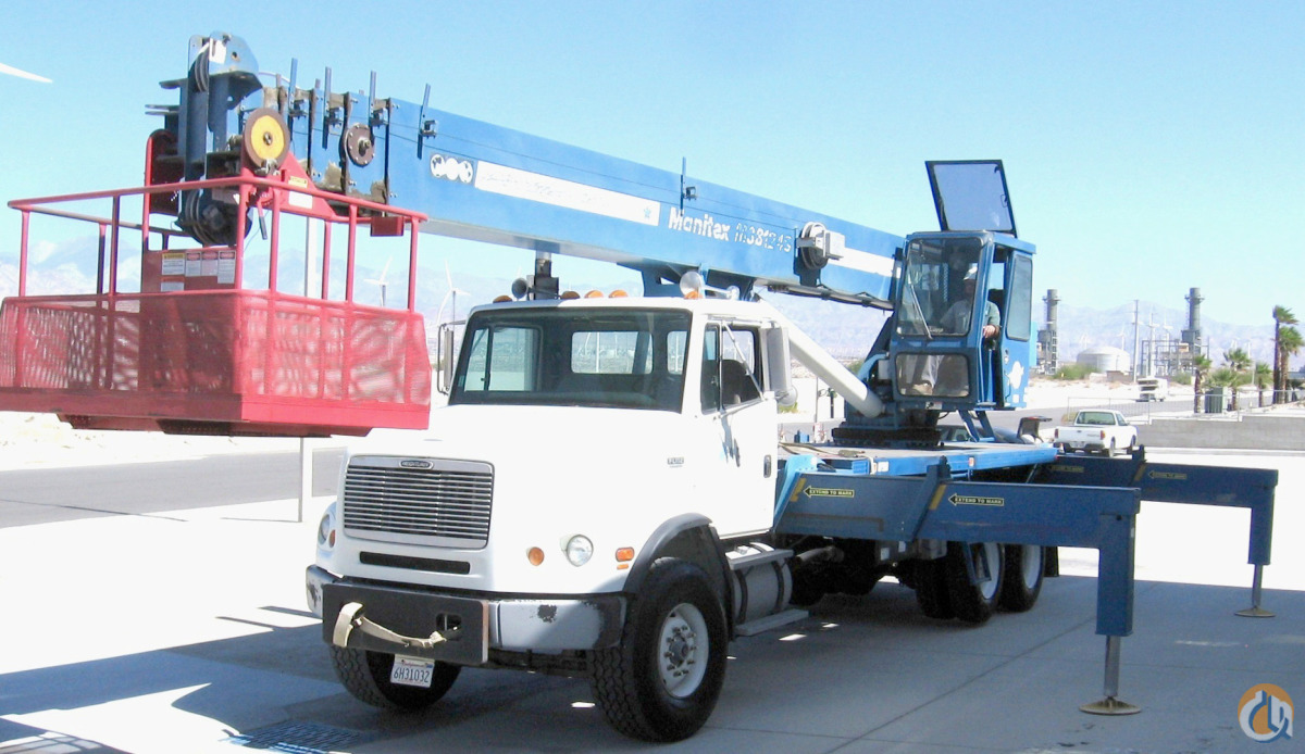 1999-2000 Manitex-Freightliner 38124SHL Boom Truck Crane for Sale on CraneNetwork.com