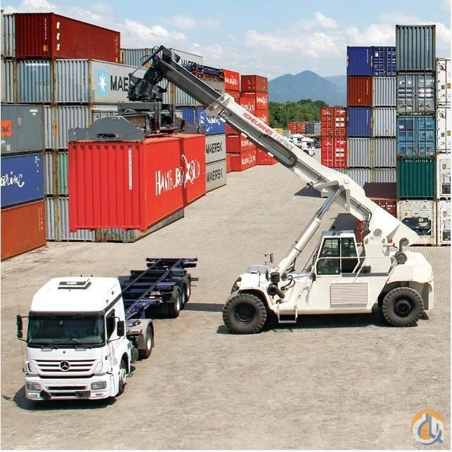 New R5-31 Konecrane Liftace Reach Stacker Crane for Sale on CraneNetwork.com
