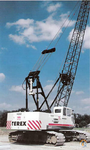 2012 Terex HC80 Crane for Sale in Leduc Alberta on CraneNetwork.com