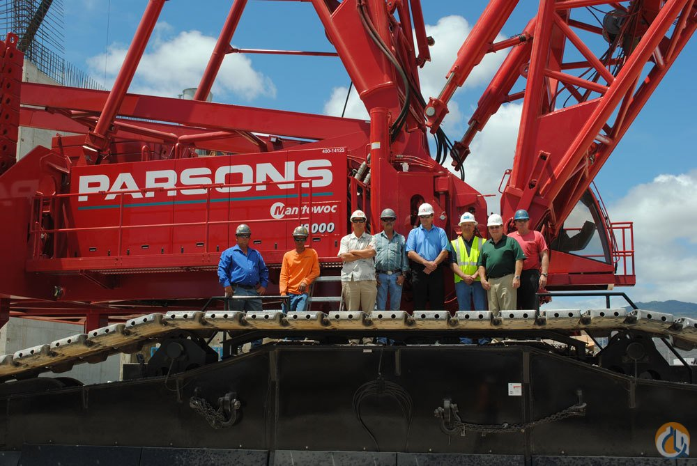 Sold Manitowoc 18000 Crawler Crane For Sale Crane for on ...