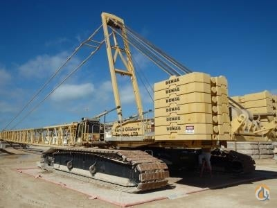 2001 Demag CC2500 Crane for Sale in Ingleside Texas on CraneNetworkcom