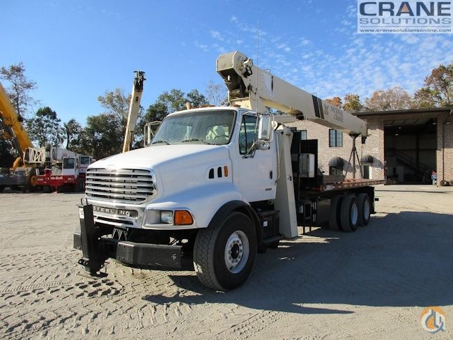 2004 NATIONAL 9103A Crane for Sale or Rent in Savannah Georgia on CraneNetworkcom
