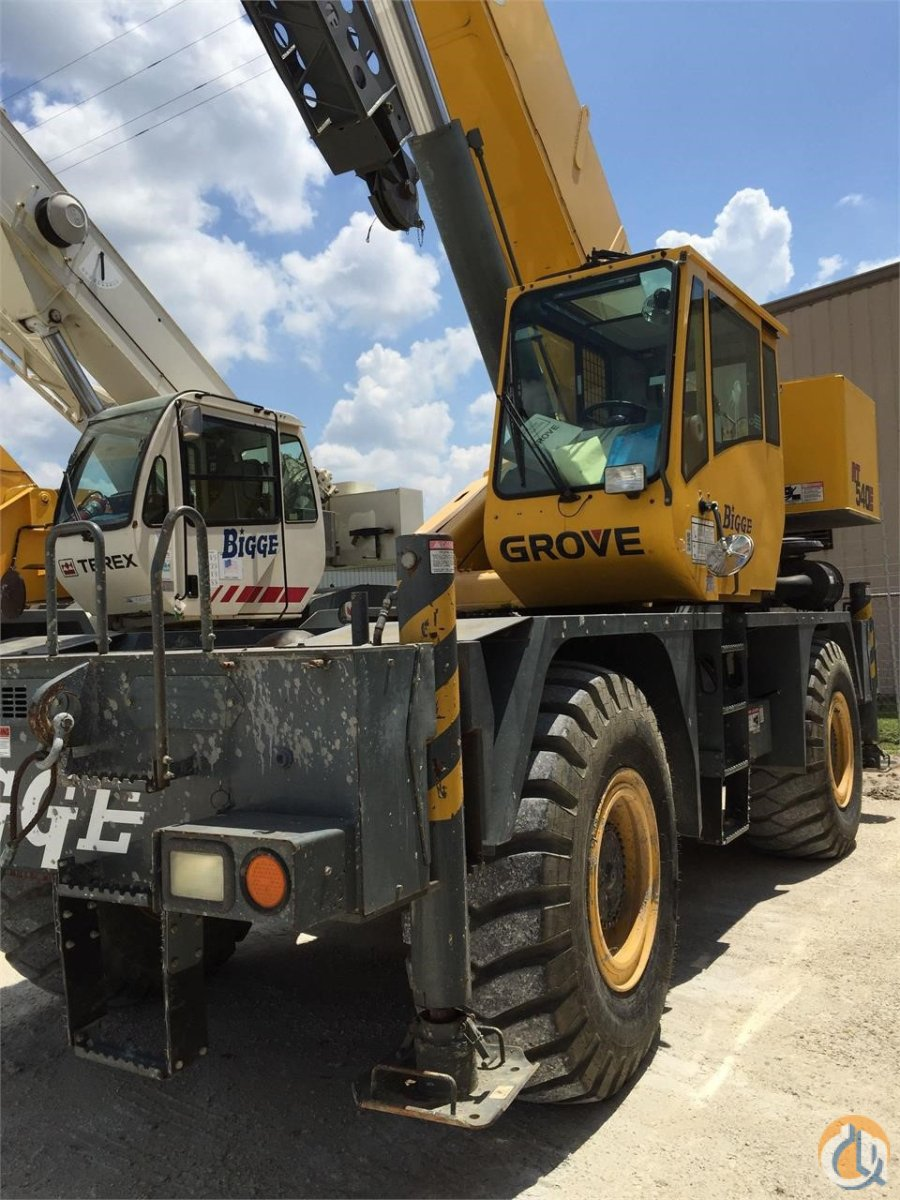 2009 GROVE RT540E Crane for Sale in Houston Texas on CraneNetwork.com