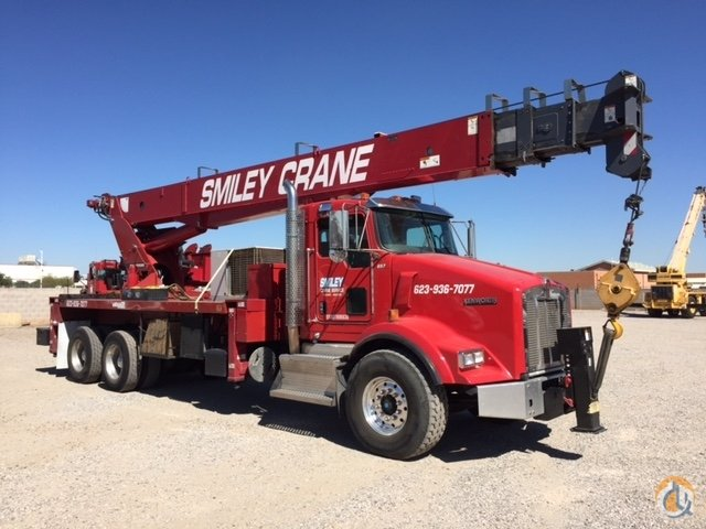 Sold 2014 Kenworth with 35 ton Terex Crane for in Phoenix