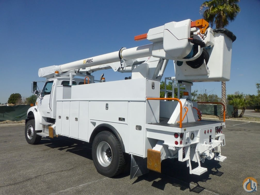 2008 Sterling Acterra 4x4 Altec AM55MH 60 Bucket Truck Crane for Sale in Norwalk California on CraneNetworkcom