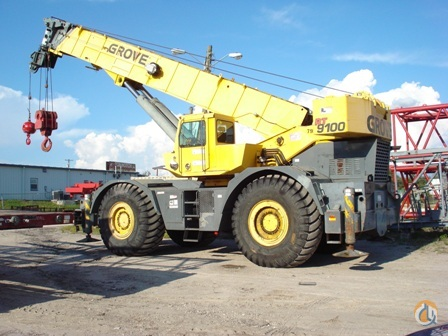 GroveRotec RT9100  Modified Crane for Sale or Rent in Hampshire Illinois on CraneNetworkcom