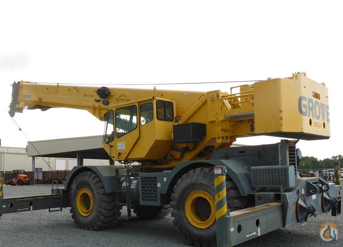 2008 GROVE RT760E Crane for Sale in Lewisville Texas on CraneNetwork.com