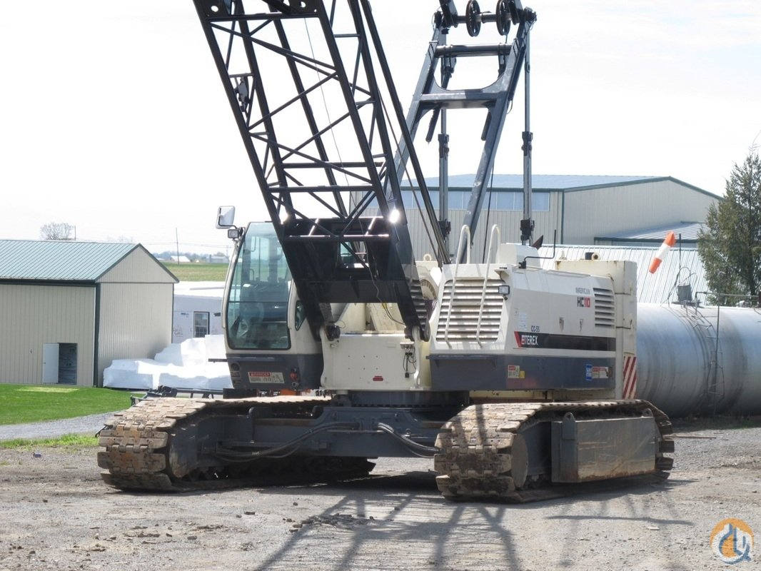 Used 2010 Terex HC110 Crane for Sale in New Holland Pennsylvania on CraneNetworkcom