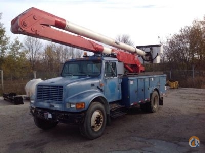 Sold 2001 Altec AA600-P Crane for  in Charlotte Michigan on CraneNetwork.com