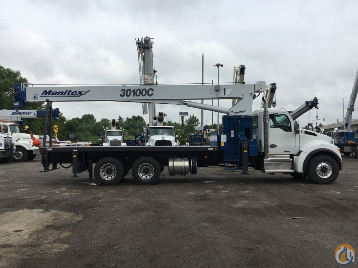 2019 MANITEX 30100C OD Crane for Sale or Rent in Oakville Ontario on CraneNetwork.com