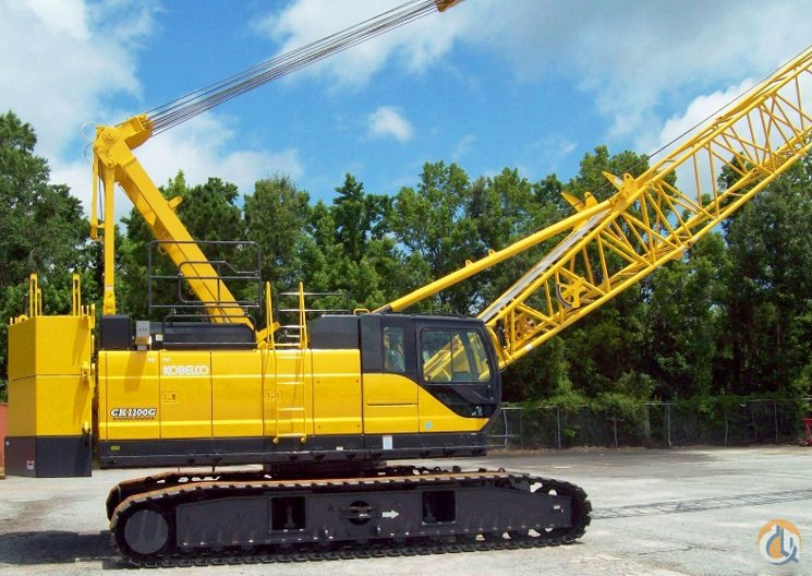 2015 KOBELCO CK-1100G Crane for Sale in Heth Arkansas on CraneNetworkcom