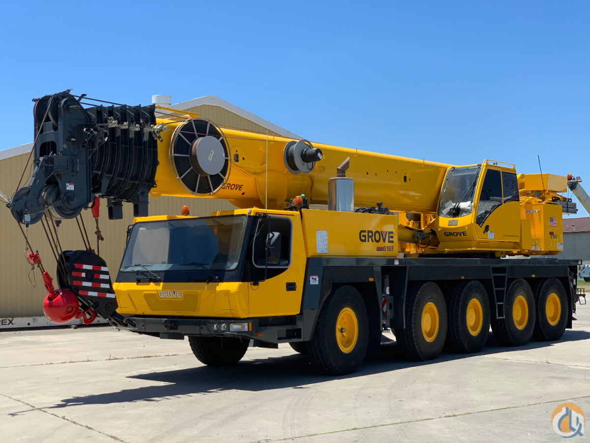 2006 GROVE GMK5165 ALL TERRAIN CRANE Crane for Sale in Houston Texas on CraneNetwork.com