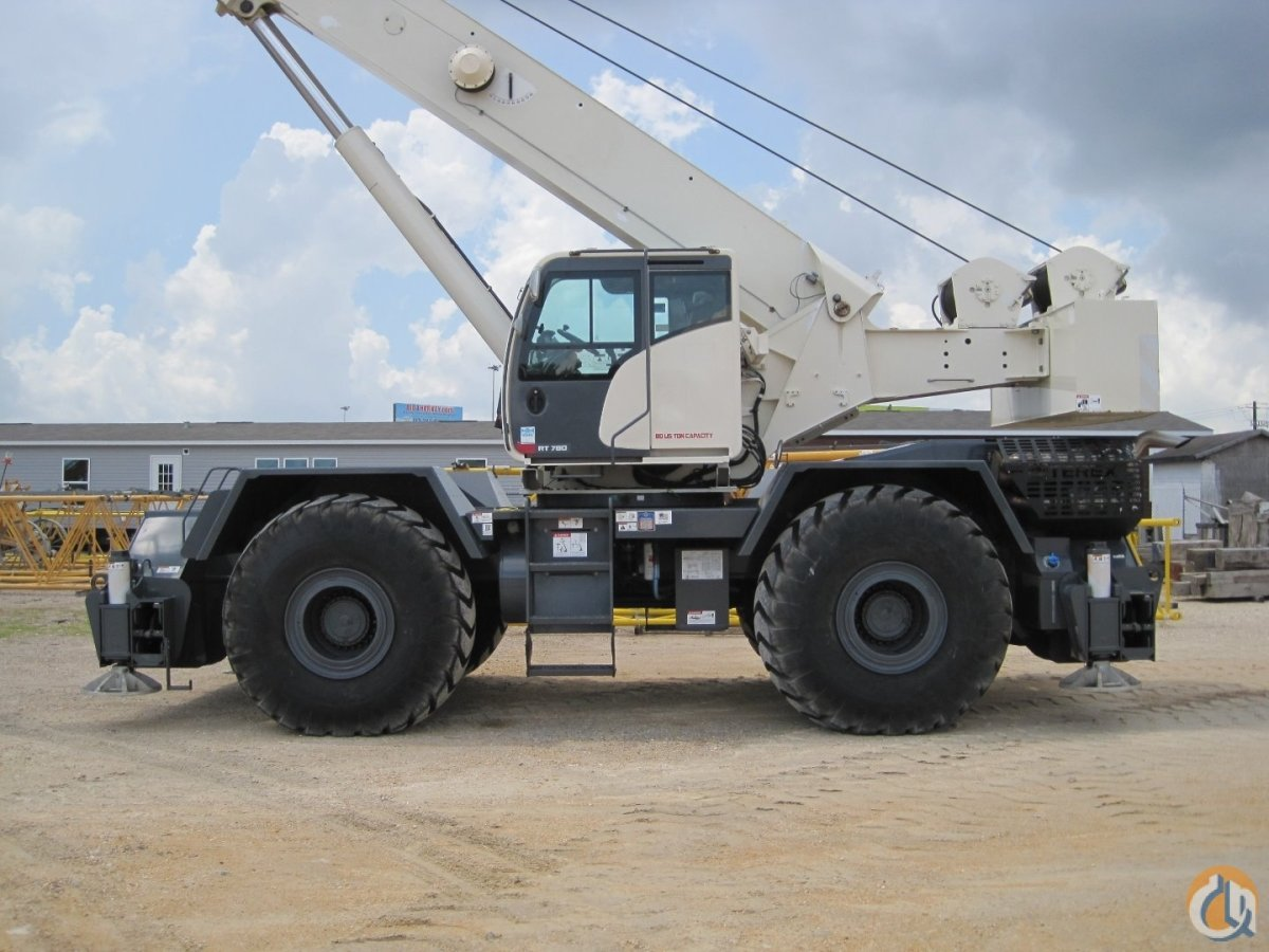 2016 TEREX RT780-1 Only 350 Hours Crane for Sale or Rent in Houston Texas on CraneNetwork.com