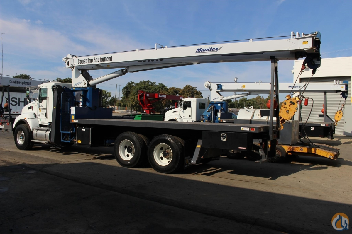 2013 MANITEX 26101C Crane for Sale or Rent in Sacramento California on CraneNetworkcom